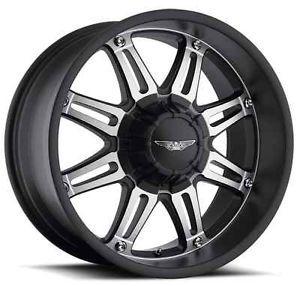 Eagle 027 Wheels Rims 20x9 Fits Chevy GMC Silverado 2500 2500HD Duramax