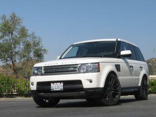 "22"" Range Rover Wheels Rims Sport HSE Supercharged LR3 LR4 Matte Black Stormer"