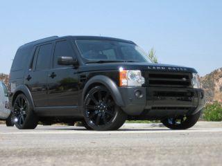 22 Black Stormer Wheels Rims Fit Range Rover Land Rover HSE Sport Full Size 2012