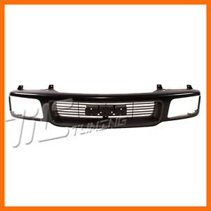 1994 1997 GMC Sonoma S15 Jimmy Unpainted Grille Grill New Front Body Parts