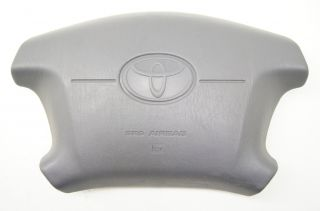 1997 2001 Toyota Camry Steering Wheel Airbag Air Bag Center Cover Grey