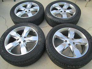 "20"" Jeep Grand Cherokee Overland Wheels Rims Tires Factory Wheels"