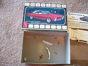 Vintage AMT Buick Riviera 1965 Villa Riviera Movie Car Parts or Restore Built