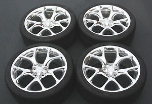 """Factoy Buick Regal GS 20"""" Polished Wheels Rims Tires"""