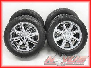 "20"" GMC Yukon Sierra Denali Chevy Tahoe Silverado Chrome Wheels Tires 18 22"