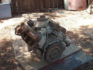 1963 Olds F 85 Buick 215 All Aluminum V8 Engine Transmission Sold for Parts