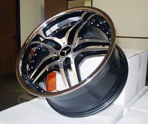 """20"""" Euromag EM2 Wheels Mercedes Benz SL CLS 500 550 AMG"""