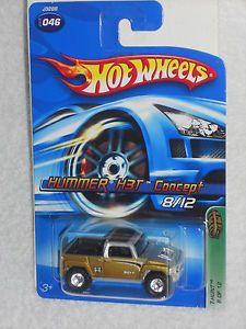 Hot Wheels 2006 Treasure Hunt Series 8 12 Hummer H3T Concept w Real Riders