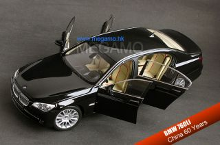1 18 Kyosho BMW F02 760 760LI Li V12 China 60 Years Anniversary Black 1 200