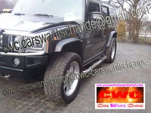 Hummer H2 Fender Flares Wheel Arch Extensions New New New