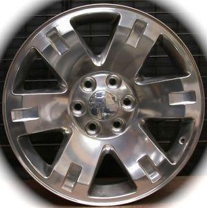 """New GMC Sierra Yukon XL Polished 20"""" Wheels Rims Chevy Silverado Tahoe Suburban"""