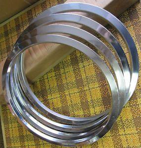 "Pontiac GTO 14"" Honeycomb Wheel Trim Rings Original Used GM Parts"