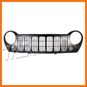 2005 2005 Jeep Liberty w Fog Model Sport Grille Grill New Front Body Parts