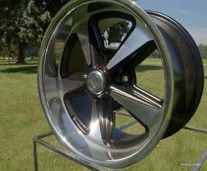 "US Mag GM Buick Olds Pontiac Chevy Rally ""Bandit"" 17x8 Hotrod Wheel"