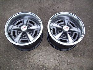 Pontiac Rally ll Wheels 14X7 JS and KS Codes 2 Wheels