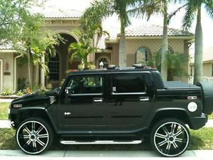"28"" Chrome and Black Wheels Tires 8x165 Chevy GMC Hummer Dodge"