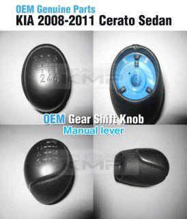 Genuine Parts Gear Shift Knob Manual Lever Fit Kia 2008 2011 Cerato Sedan