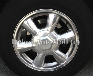 Isuzu Ascender GMC Envoy New Polished Silver Wheel Center Caps Replica w 5143