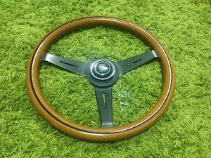 Nardi Personal Wood Steering Wheel Porsche Jaguar Alfa Fiat Volvo Datsun Saab MG
