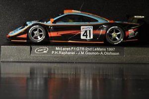 Slot It CA10D McLaren F1 GTR LM '97 Custom Wheels Collector Grade New Mint Boxed