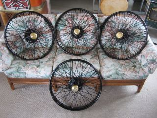 4 Model T Ford Accessory Wire Wheels McLaren 30 x 3 1 3 Unused