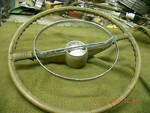 1955 56 Oldsmobile 88 Steering Wheel and Horn Button Rat Rod