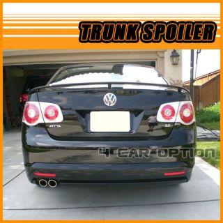 Volkswagen Jetta 06 10 OE Factory Style Rear Trunk Spoiler Painted L041 Black