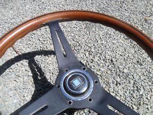 Mercedes Benz Nardi Wood Steering Wheel Jaguar Porshe Saab Triumph MG MGB Datsun