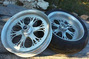 Ultra RARE West Coast Choppers Jesse James Lawless Billet Wheels