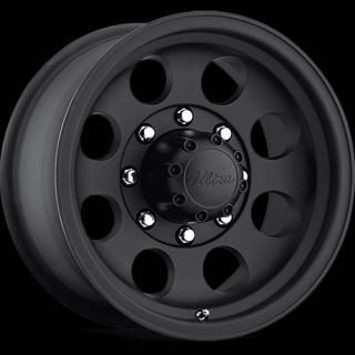 17x9 Black Ultra Type 164 164 Wheels 8x6 5 12 Lifted Chevrolet K 2500 8 Lug