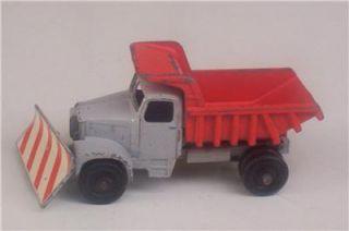 Scammell Snow Plow Truck 16 Lesney England Matchbox