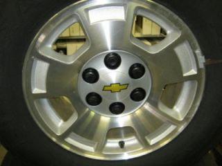 """New 99 06 07 12 Chevy Silverado Chevy Tahoe 17"""" 6 Lug Wheels Tires"""