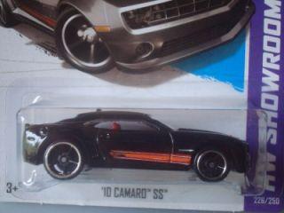 Hot Wheels 2013 New HW Showroom Series Black 10 Camaro SS 226