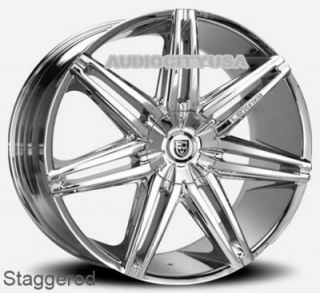 "22"" Lexani Johnson CH for Land Range Rover Wheels and Tires Rims HSE Sports"