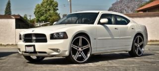 "24"" inch IROC BM Wheels and Tires Rims for 300C Charger Magnum Challenger"