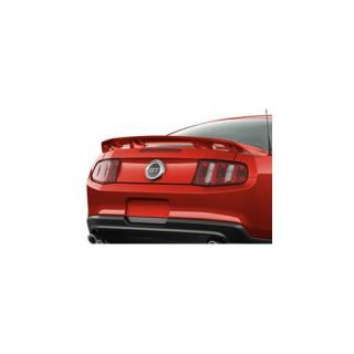 2010 thru 2014 Mustang Genuine Ford Parts Rear Pedestal Spoiler No Camera