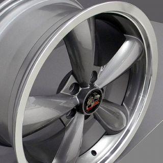 """20"""" Bullet Rims Fit Mustang® GT Bullitt Deep Dish Wheels 05 Set"""