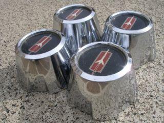 Oldsmobile Olds 442 Cutlass Hurst Wheel Center Caps 4