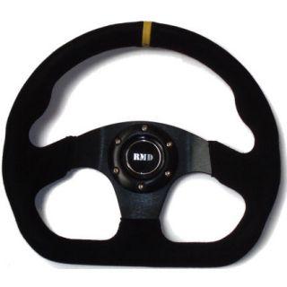 Race Steering Wheel Flat Formula D Suede Sparco Fit