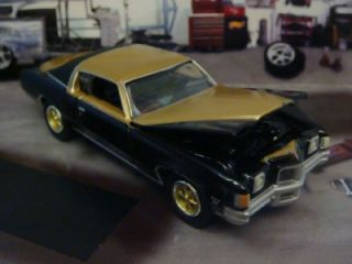 72 Pontiac Grand Prix Hurst SSJ 1 64 Scale Limited Edition 4 Photos Below