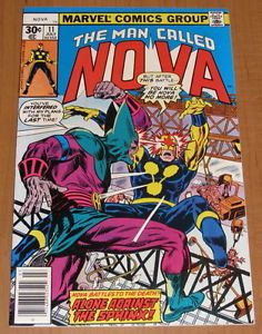 Nova 11 1977 Sphinx Nice High Grade Comic