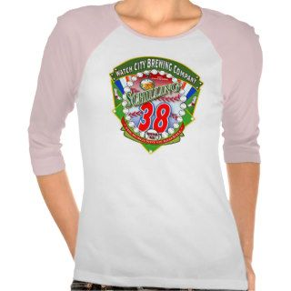 38 Schilling Red, White & Blue Tee Shirts