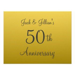 50.as invitaciones personalizadas del aniversario de