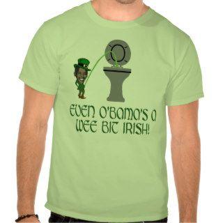 Funny Irish Obama Tees