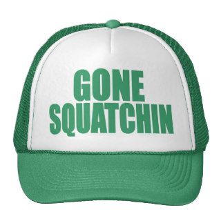 Original & Best Selling Bobo's GONE SQUATCHIN Hat