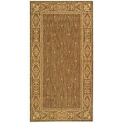 Indoor/ Outdoor Summer Brown/ Natural Rug (2'7 x 5') Safavieh 3x5   4x6 Rugs