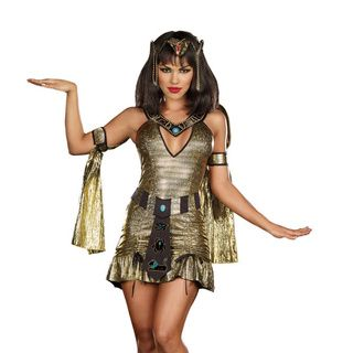 Dream Girl Women's 'Naughty on the Nile' 3 piece Egyptian Costume Dream Girl Costumes