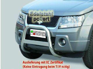 Frontb�gel Frontschutzb�gel Rammschutz Personenschutzb�gel Bullbar SUZUKI Grand Vitara Baujahr ab 2005 2008 Edelstahl � 63mm mit EC Nummer (inkl. ABE) eintragungsfrei, anbauen und losfahren Auto