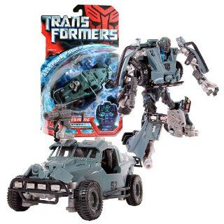 Hasbro Year 2007 Transformers Movie All Spark Power Series Deluxe Class 6 Inch Tall Robot Action Figure   Autobot LANDMINE with Cryo Shock Rifle (Vehicle Mode: Dune Buggy): Toys & Games