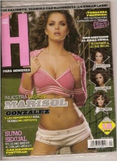 H, Para Hombres (Edicion USA, Marisol Gonzalez, Octubre 2009) Books